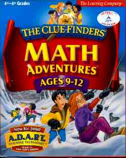 ClueFinders Math ages 9-12
