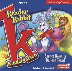 Reader Rabbit Kindergarten: Bounce Down in Ballon Town